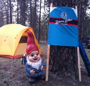 Every campsite needs its gnome mascot.